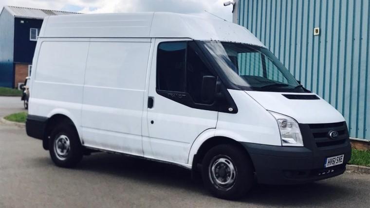 Ford Transit cargo van or Similar